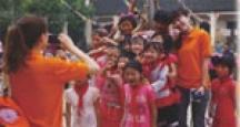 天正员工短期助教——湖南宜章县一六镇合动阳光小学 2011.05.31-2011.06.04
