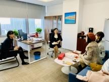 阳光心汇心拜访南京银行苏州分行